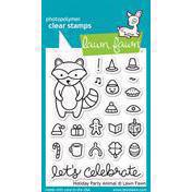 Lawn Fawn Clear Stamps - Holiday Party Animals