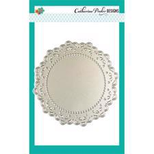 Catherine Pooler Die - Large Doily