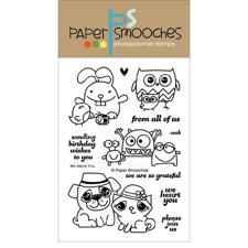 Paper Smooches Clear Stamp Set - We Adore You