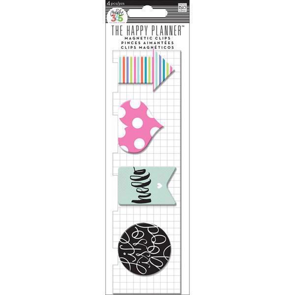 Happy Planner - Happy Planner / Magnetic Clips Hello Stripes