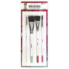 Dina Wakley Media - Media Brushes / Set 4 pcs.