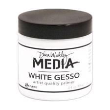 Dina Wakley Media - Gesso / White 118 ml (dåse)