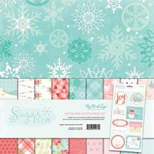 "My Minds Eye Paper Kit 12x12"" - Sugar Plum"