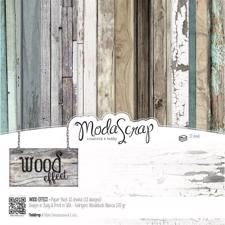 "ModaScrap Paper Pack 12x12"" - Wood Effect"