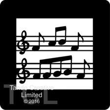 Tando Creative Mini Stencil - Music