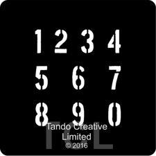 Tando Creative Mini Stencil - Numbers