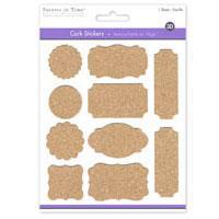 Cork Elements Sticker Tags