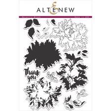 Altenew Clear Stamp Set - Majestic Bloom