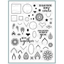 Gina K Design Clear Stamps - Mandala Maker