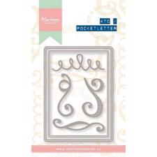 Marianne Design Dies - ATC / Pocket Letter Set