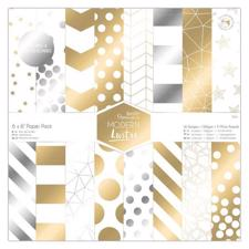 "Papermania 6x6"" Paper Pad - Modern Lustre"