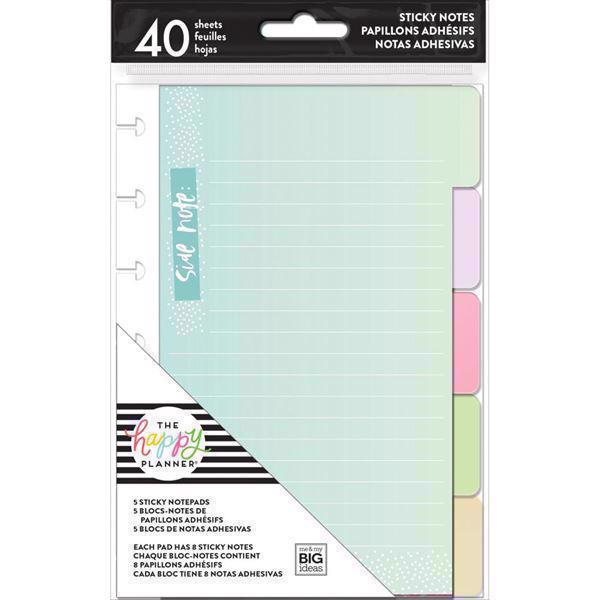 Happy Planner / Create 365 - Sticky Note Tabs / Pastels
