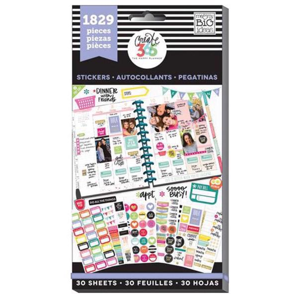 Happy Planner - Happy Planner / Sticker Value Pack - Basics