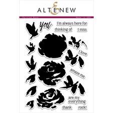 Altenew Clear Stamp Set - Painted Rose