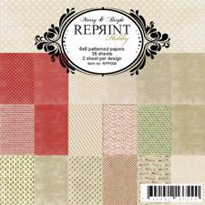 "RePrint Scrapbooking Paper pack 6x6"" - Merry & Bright"