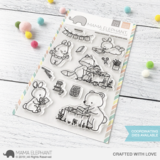 Mama Elephant Clear Stamp Set - Crafted With Love