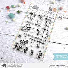 Mama Elephant Clear Stamp Set - Dandelion Wishes