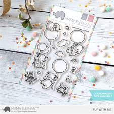 Mama Elephant Clear Stamp Set - Fly With Me