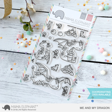 Mama Elephant Clear Stamp Set - Me and My Dragon