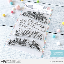 Mama Elephant Clear Stamp Set - Scene Builder