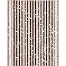 Wood Stamp - Large Canvas Stripes