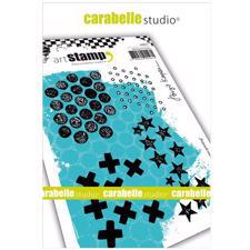 Carabelle Studio Cling Stamp Large - Textures Printing