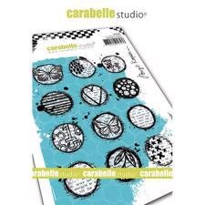 Carabelle Studio Cling Stamp Large - Circles Collage