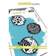 Carabelle Studio Cling Stamp Large - Textured Circles