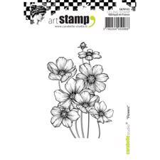 Carabelle Studio Cling Stamp Medium - A7 Flowers