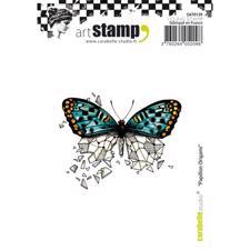 Carabelle Studio Cling Stamp Medium - Papillon Origami