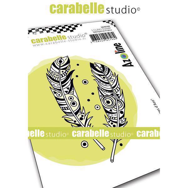 Carabelle Studio Cling Stamp Medium - Plumes d\'Azo