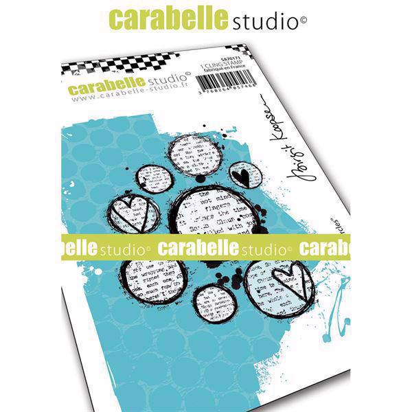Carabelle Studio Cling Stamp Medium - Lovely Circles