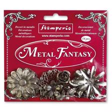 Stamperia Metal Fantasy Flowers
