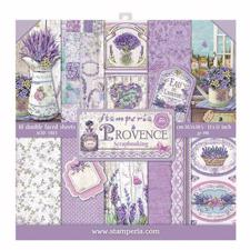 "Stamperia Paper Pack 12x12"" - Provence"