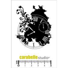 Carabelle Studio Cling Stamp Mini - Collage Horloge