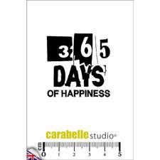 Carabelle Studio Cling Stamp Mini - 365 Days of Happiness