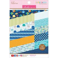 "Bella Blvd Paper Pad 6x8"" - Secrets of the Sea / Boy"