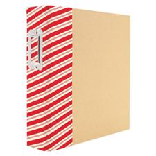 "Sn@p Binder 6""X8"" - Holiday Edition / Striped"