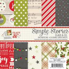 "Simple Stories Paper Pad 6x6"" - Claus & Co."