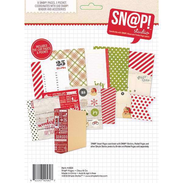 Simple Stories - Claus & Co. / Sn@p Journal Pages