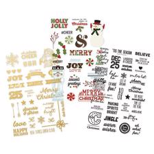 Simple Stories - Classic Christmas / Clear Stickers
