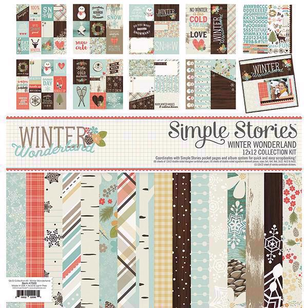 "Paper Pack 12x12"" Collection - Simple Stories / Winter Wonderland"