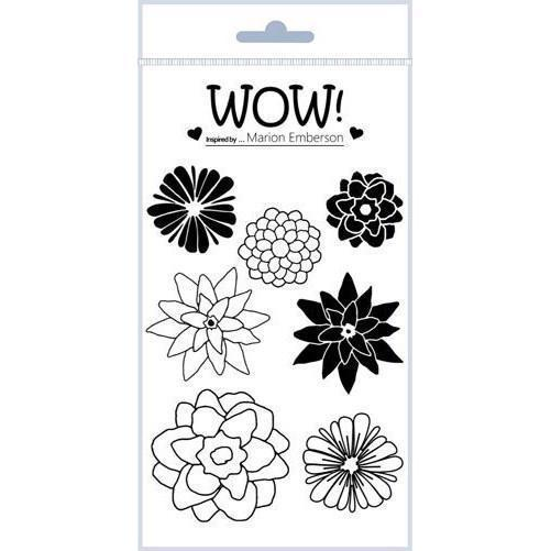 WOW Clear Stamp Set - Hey Little Flower (by Marion Emberson)