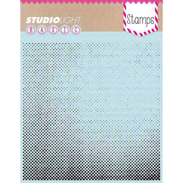 Studiolight Clear Stamp - Background / Raster Dots