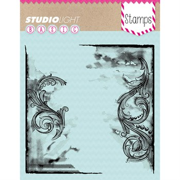 Studiolight Clear Stamp - Background / Flourish