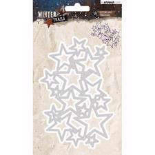 Studiolight Die - Winter Trails no. 104 Star Background