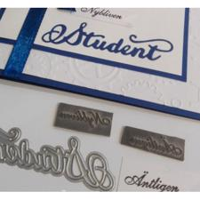 Rox Stamps Die - Student