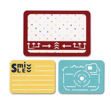 Sizzix Thinlits Pocketscrap - Smile for the Camera