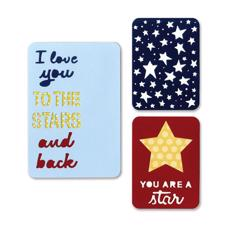 Sizzix Thinlits Pocketscrap - Stars