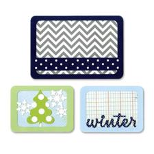 Sizzix Thinlits Pocketscrap - Winter